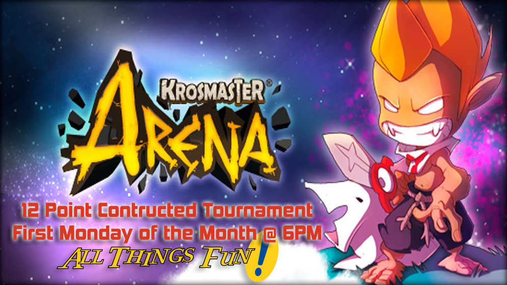 Krosmaster Arena: Monthly Tournament @ All Things Fun! | Berlin Township | New Jersey | United States